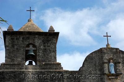 Goliad, TX - Presidio La Bahia Roof - 2