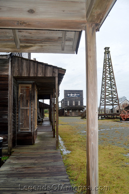 Beaumont, TX - Boomtown Museum Boardwalk