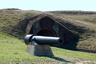 Gulf Shores, AL - Fort Morgan - Cannon