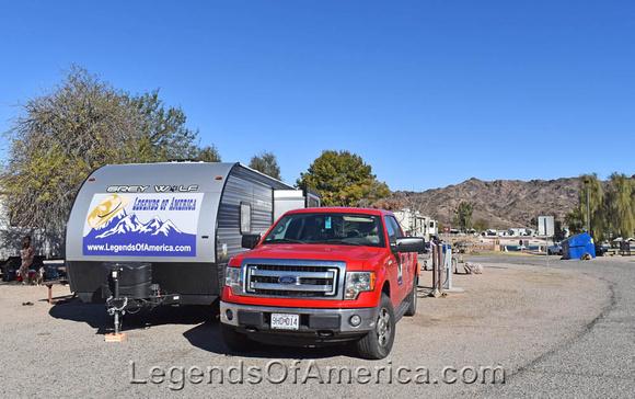 Buckskin Mountain State Park RV Campground