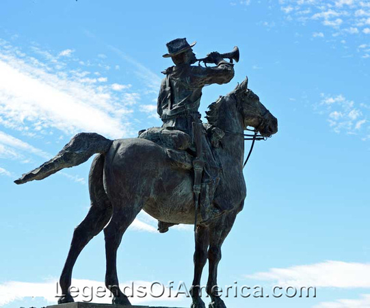 The Chief Trumpeter, Fort Lowell National Historic Place, Tucson.