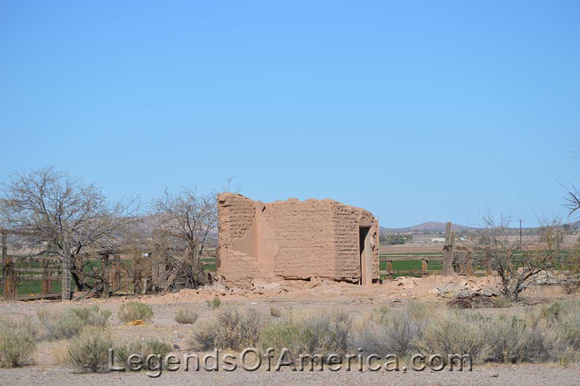 Adamsville Ghost Town, outside of Florence, Arizona