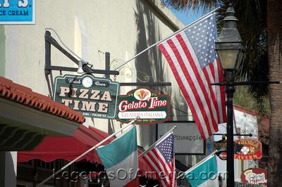 St. Augustine, FL - St. George Street Bistro's