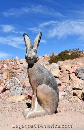 Boulder City, NV - Bootleg Canyon Park - Big Rabbit