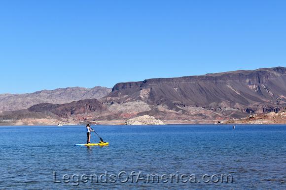 Lake Meade, NV - Boulder Beach Surfing