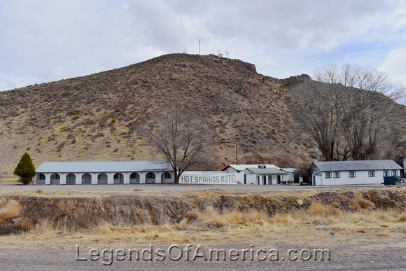Caliente, NV - Hot Springs Motel