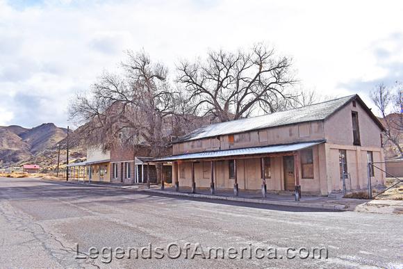 Caliente, NV - Underhill Building Row