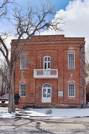 Pioche, NV - First County Courthouse