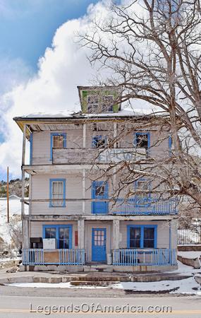 Pioche, NV - Mountain View Hotel