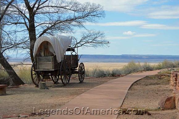 Pipe Springs National Monument, Utah - Wagon