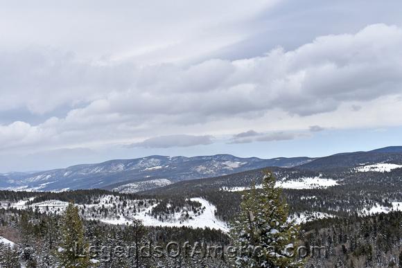 Mora County, NM - Sangre de Cristo Mountains