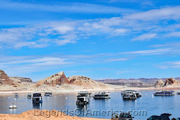 Glen Canyon Dam - Lake Powell