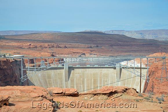 Glen Canyon, AZ - Dam at Page, AZ