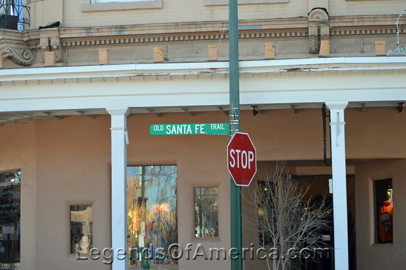 Santa Fe, NM - Downtown Santa Fe Trail