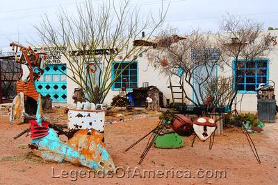 Van Horn, TX - Antique Store