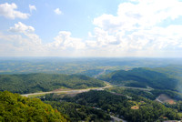 Cumberland Gap National Historic Park, KY -  Powells ValleyFromPinnacleOverlook