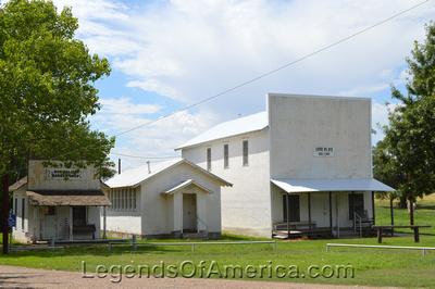 Old Mobeetie, TX - Buildings