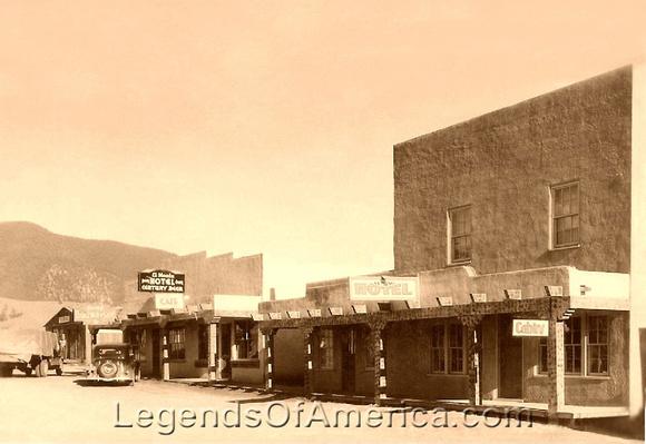 Eagle Nest, NM - Street Scene
