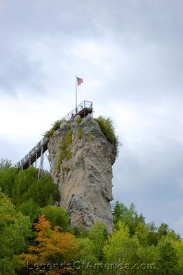 St Ignace, MI - Castle Rock