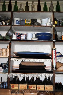 High Amana, IA - General Store Interior - 2