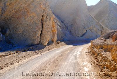 Death Valley, CA - 20 Mule Team Road