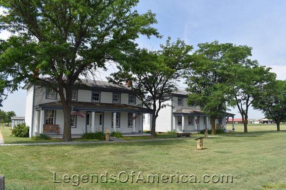 Fort Hays Historic Site -Officers Quarters