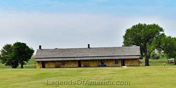 Fort Hays Historic Site -Soldiers Barracks