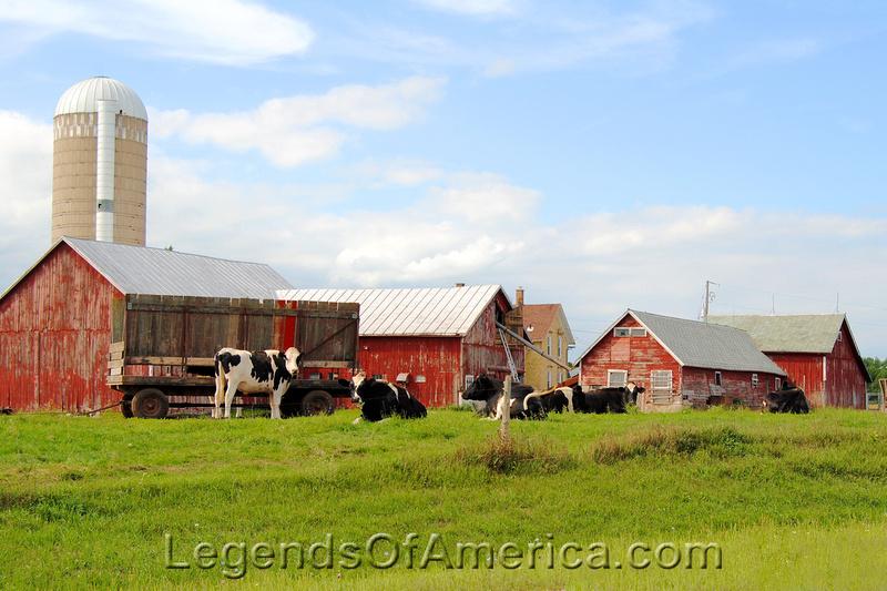 Shebogan, WI - Dairy Farm to the North