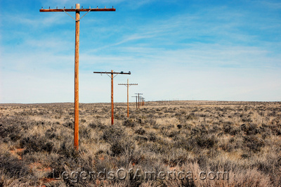 Petrified Forest, AZ - Old Route 66