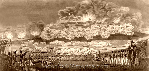 Capture & Burning of Washington DC