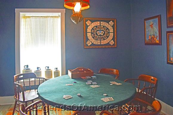 Cimarron, NM - St. James Hotel Poker Room