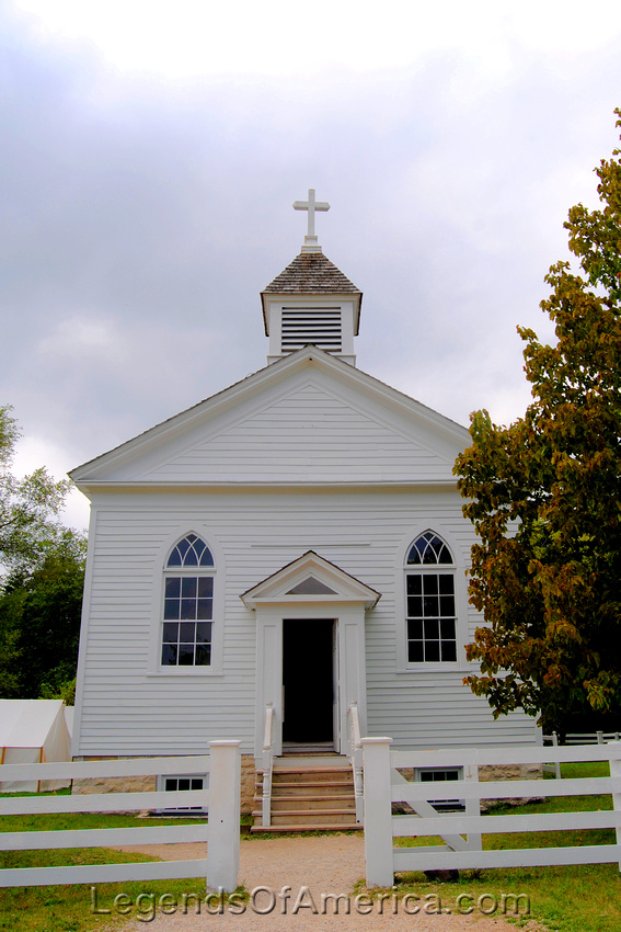 Old World Wisconsin - St. Peters Church