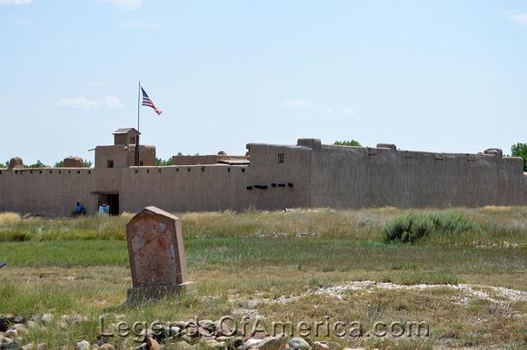 Bent's Fort, CO -  Edward Dorris Grave 2021
