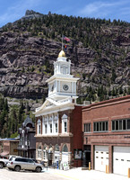 Ouray, CO - City Hall & Walsh Library