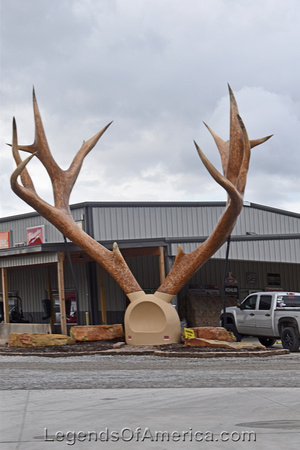 Casey, IL - Big Antlers