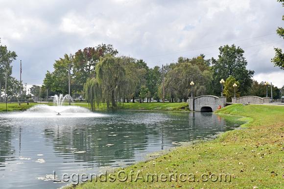 Casey, IL - Fairview Park Fountain