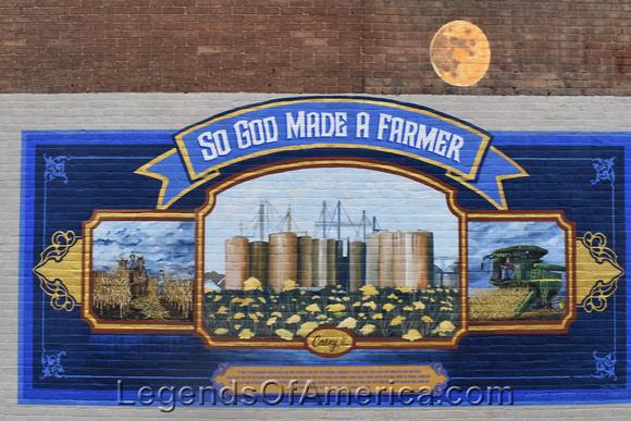 Casey, IL - Mural
