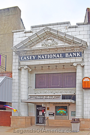 Casey, IL - Old Bank Building