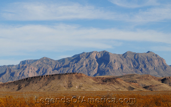 Big Bend National Park, TX - Rugged Mountains