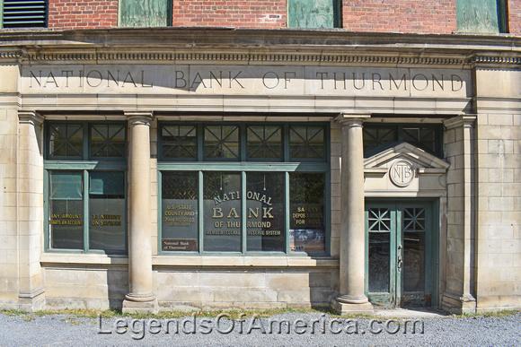 Thurmond, WV - National Bank of Thurmond