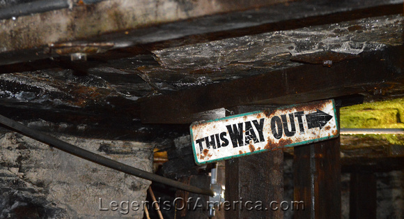 Beckley, WV - Exhibition Coal Mine - This Way Out-da