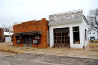Cedar Vale, KS - Main Street Buildings