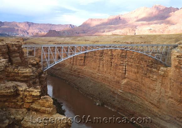 Navajo Bridge, AZ - Spanning Colorado River