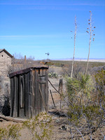 Shakespeare, NM - Outhouse