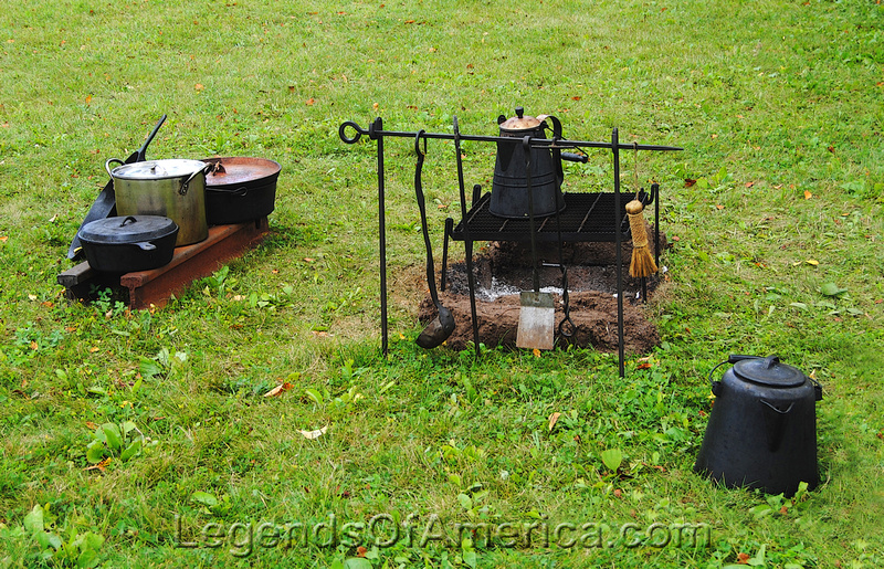 Old World Wisconsin - Outside Cooking