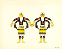 Eagle Dancers, about 1927