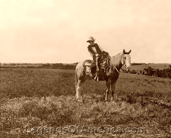 Bonham, TX - Erwin E. Smith, Cowboy Photographer