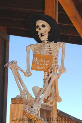 Goldfield, AZ - Skeleton