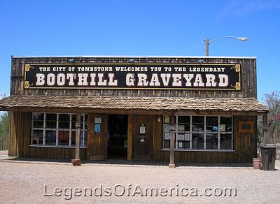 Tombstone, AZ - Boot Hill Graveyard