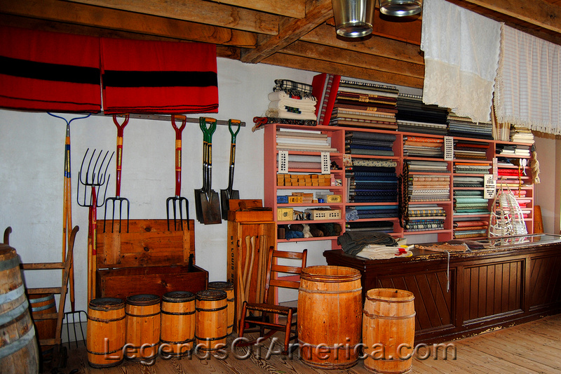 Old World Wisconsin - Thomas General Store-inside